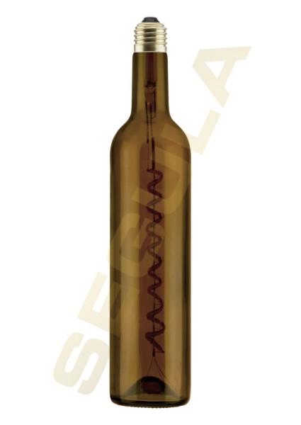 LED Wine Bulb braun 500ml E27 50113