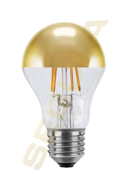LED Ambient Dimming Glühlampe Spiegelkopf gold E27 50496