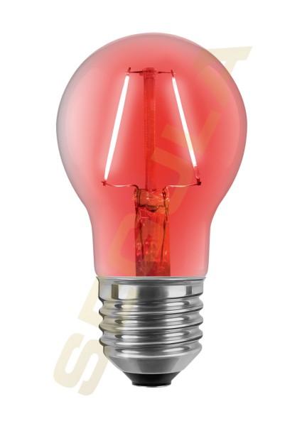 LED Glühlampe rot E27 60303