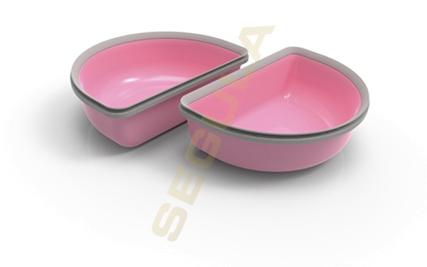 SureFeed Halbschalen Set pink 2 x 200 ml 70962