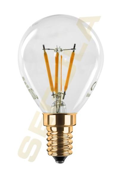 LED Tropfenlampe klar, 24 V DC, E14, 50830