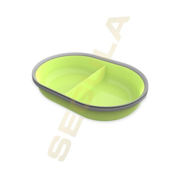 70928, split Futterschale, grün