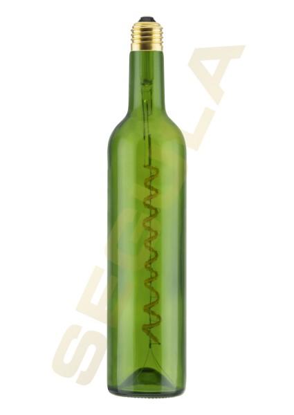 LED Wine Bulb grün 500ml E27 50114