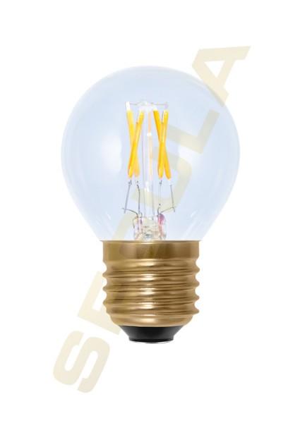LED Golfball klar E27 50208