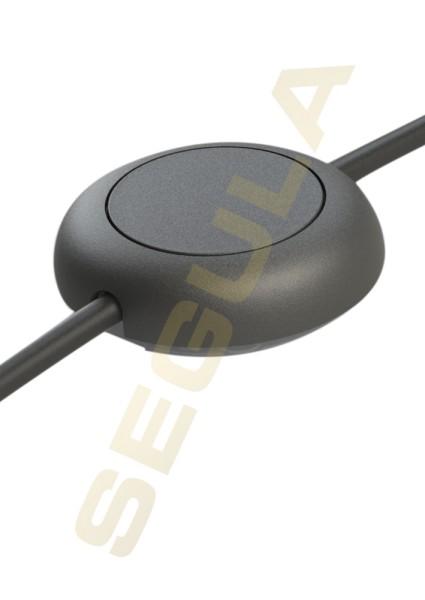 LED Dimmer mit Fußschalter schwarz 50845