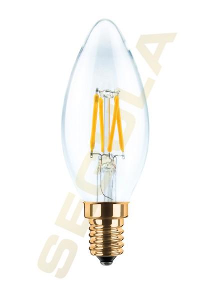 LED Kerze klar E14 2200K 50201