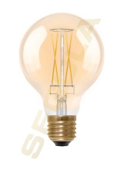 LED Globe gold 80 E27 50291