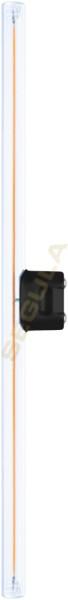 LED Mini Linienlampe, klar, S14d, 50180