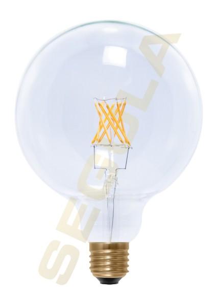 LED Globe 125 klar, E27, 50286
