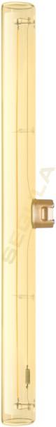 LED Linienlampe, 300mm, S14d, gold, 50182