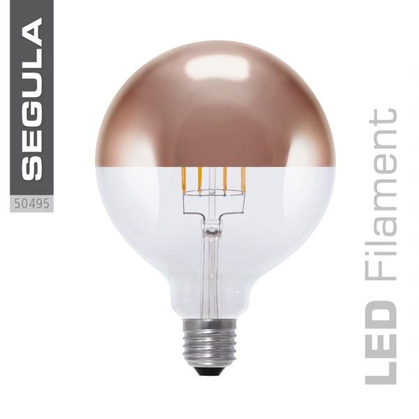 LED Spiegelkopf Globe kupfer |E27|8,0 W (35 W)|400 Lm|2.000-.2.900 K|