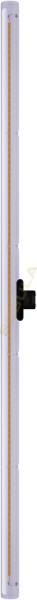 LED Linienlampe 1000mm, smokey grau, S14d, 50195