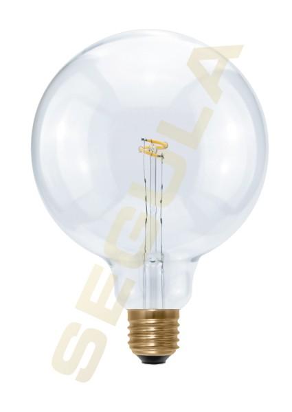 LED Globe 125 Curved Point E27 50168