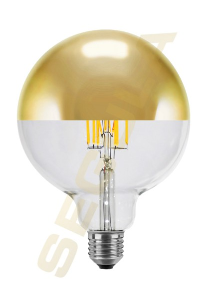 LED Globe 125 Spiegelkopf gold Ambient Dimming E27 50494