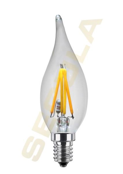 LED Kerze Windstoß, Ambient Dimming, 50237