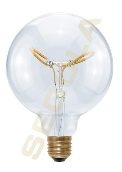 LED Globe 125 Curved Butterfly klar 50415