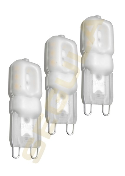 LED G9 Stift opal 3er Pack 60636
