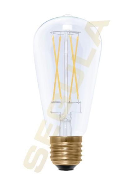 LED Rustika Long Style klar, E27, 50298