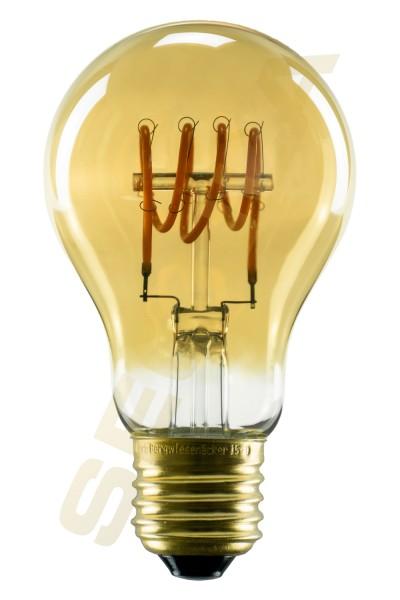 50528 LED Glühlampe Curved gold |E27|4 W (16 W)|150 LM|2.000 K|