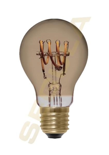 LED Glühlampe Curved gold E27, 50528