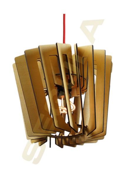 Wood light Roloway warm summer 70001