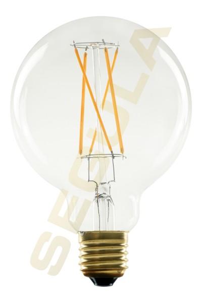 50294 LED Globe 95 Shatter free klar  E27