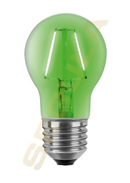 LED Glühlampe grün E27 60307