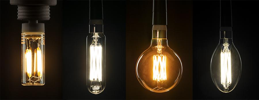 LED illuminant, Segula Bright Line, LED lighting, High Power LED, LED lamps, LED lighting, LED technology, efficient LED, LED high luminous efficacy, LED high light, LED daylight white, warm white, High Power LED warm white
