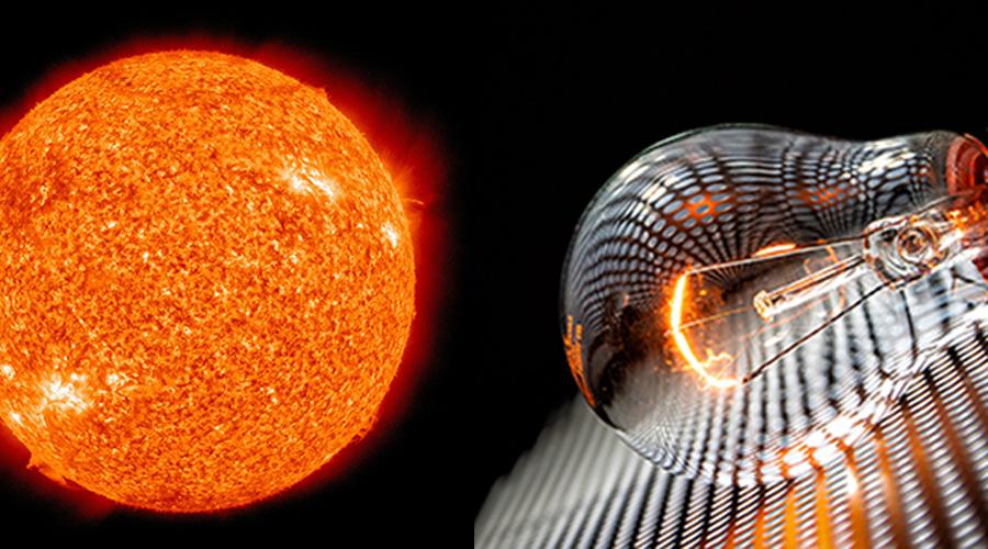 Licht, Entstehung von Licht, Spektrum, Licht Wahrnehmung, Licht Wirkung, Sonne, Glühbirne, Glühlampe, künstliche Beleuchtung