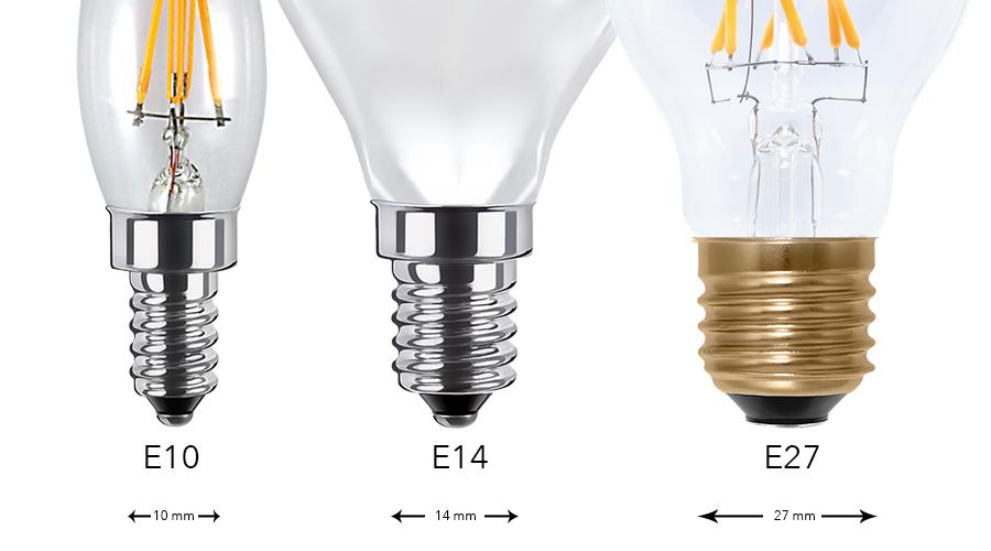 LED Sockel, LED Fassungen, LED Fassung, E10, E14, E27, S14, G4, GU10, G9, LED Beleuchtung, LED Ersatz, Umstellen auf LED