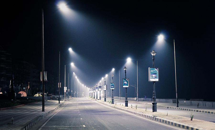 Dämmerung, Straßenbeleuchtung, Richtlinien der CIE
