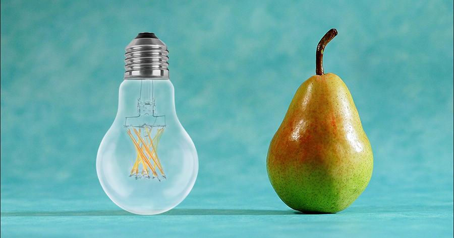 Lampe, Leuchte, Leuchtmittel, Synonyme, Verwirrung, LED Kauf, Glühlampe, Glühbirne