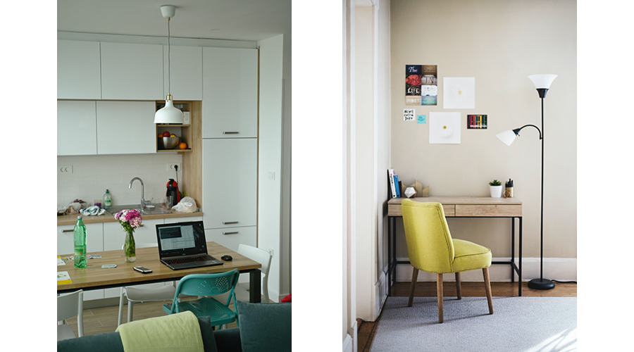 Bildschirm-Arbeitsplatz, Home Office, Homeoffice, Bildschirmarbeit, Monitor Arbeit, Licht am Arbeitsplatz, Licht am Monitor, Beleuchtung im Büro, gutes Licht im Home Office, LED Beleuchtung, Arbeitslicht zu Hause, Arbeitslicht